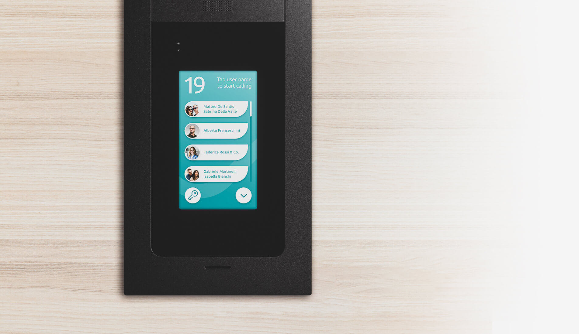 IpDoor door station buttons
